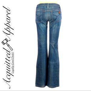 Joe's Bootcut Jeans Petite Short Distressed